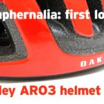 First look: Oakley ARO3 helmet