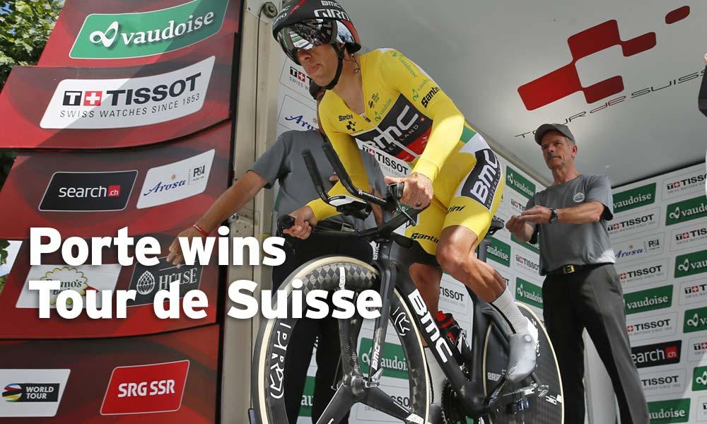 Richie Porte: victory in the Tour de Suisse