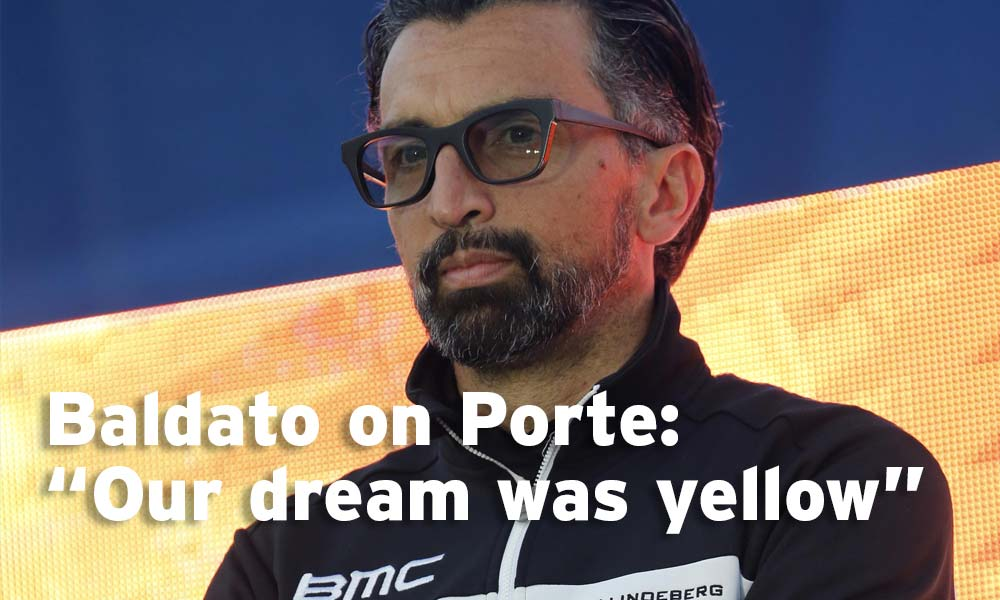 Fabio Baldato comments on Richie Porte's crash