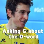 Asking G about the D-word
