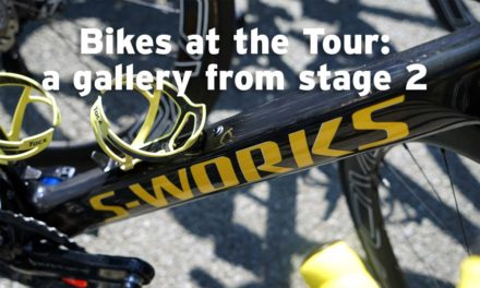 Stage 2 gallery: bikes of the Tour
