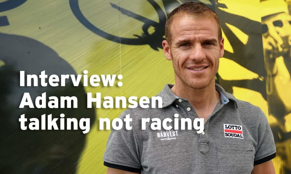 """Adam Hansen: """"I didn't appreciate how big this event is"""""""