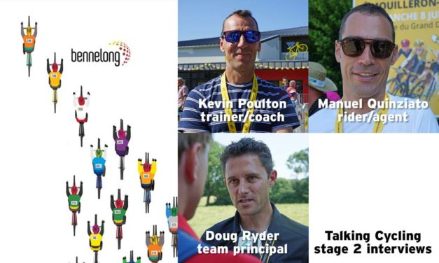 Talking cycling – interviews at the Tour (stage 2)