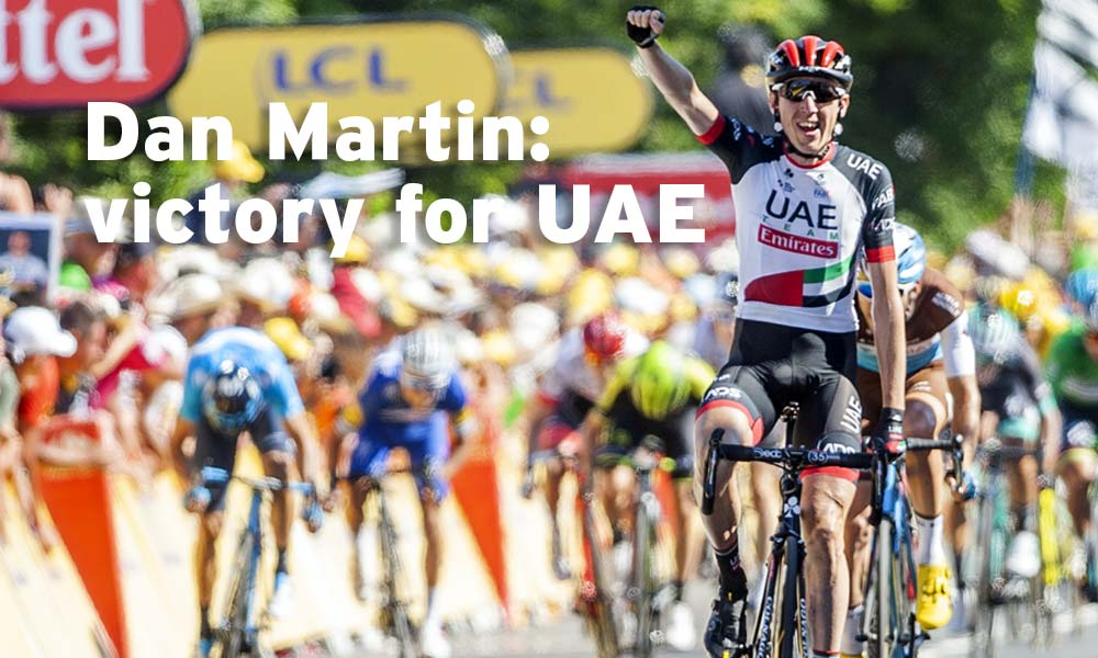 "Dan Martin: ""I'm adapting to this role"""
