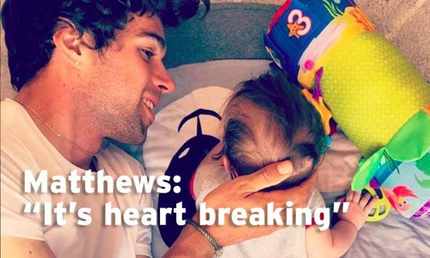 """Matthews on Porte: """"It's pretty heart breaking"""""""