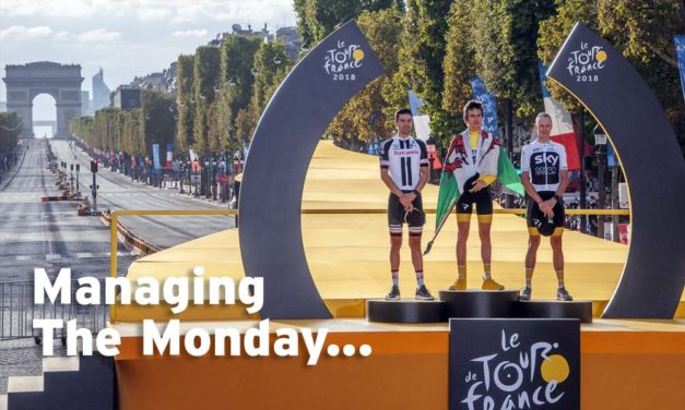 The Monday After – managing stage 22