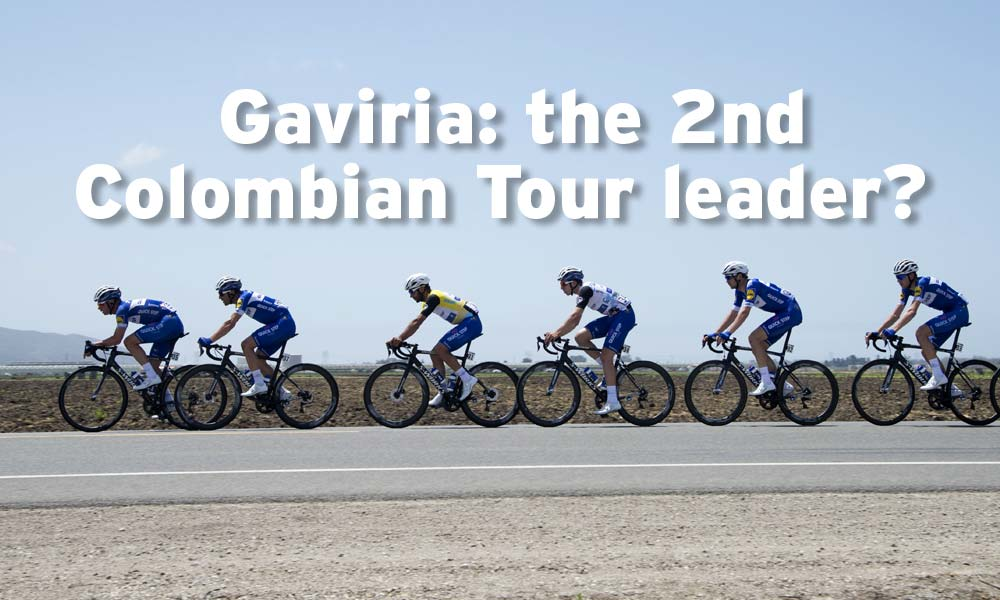 Gaviria: the 2nd Colombian yellow jersey?