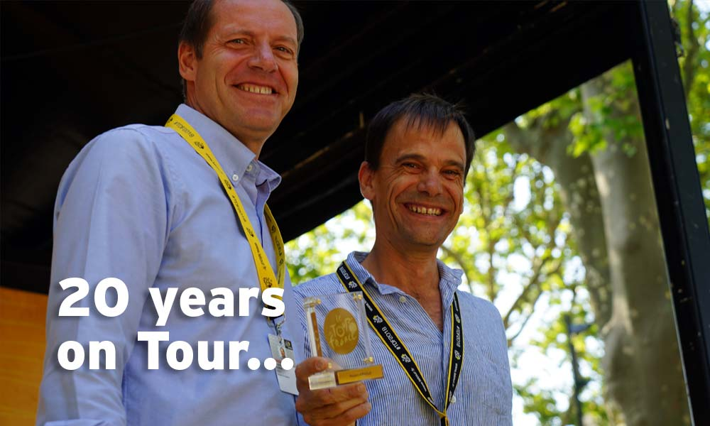 Rob Arnold: 20 years on the Tour de France