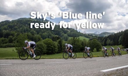 'Blue line' ready for yellow… just not in stage 10
