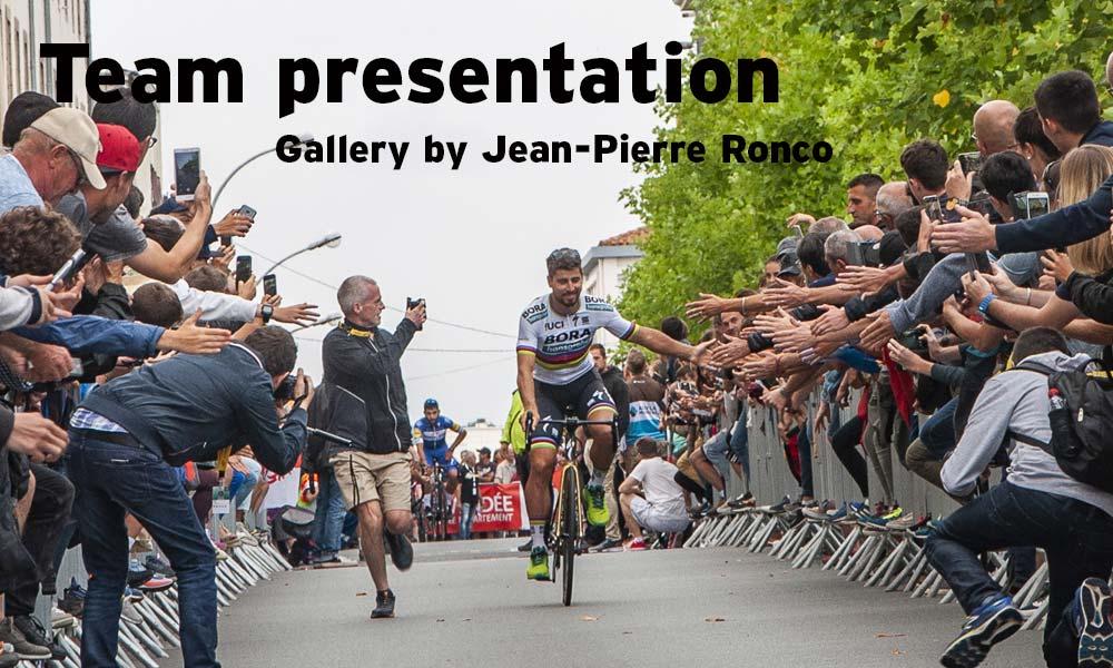 Tour de France: team presentation gallery by Ronco