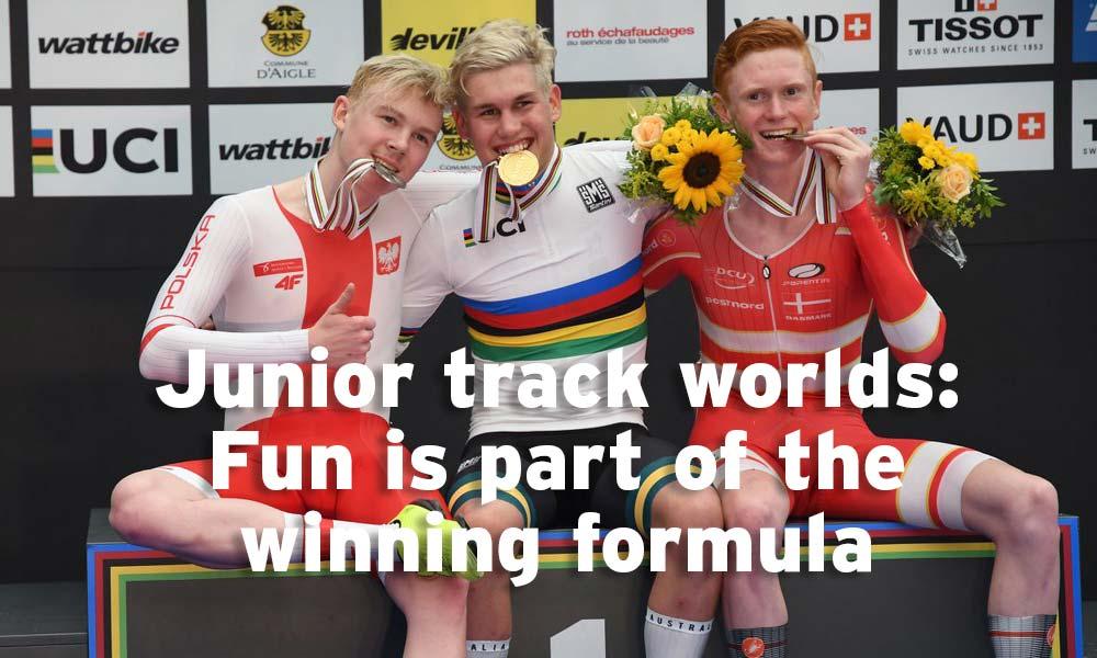 Junior track worlds: enjoyment net results