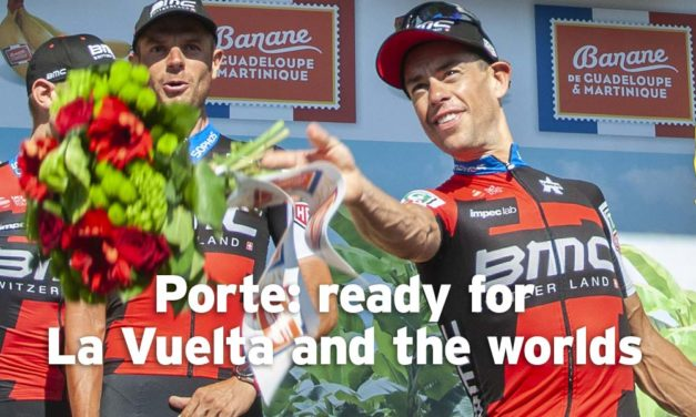 Porte: ready to race again – La Vuelta then the worlds!