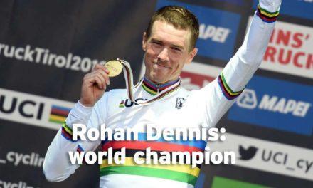 Rohan Dennis: time trial world champion
