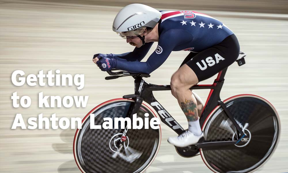Getting to know Ashton Lambie – individual pursuit world record holder