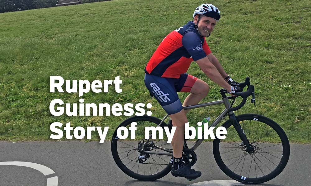 Rupert Guinness: story of my bike – Curve Belgie Spirit