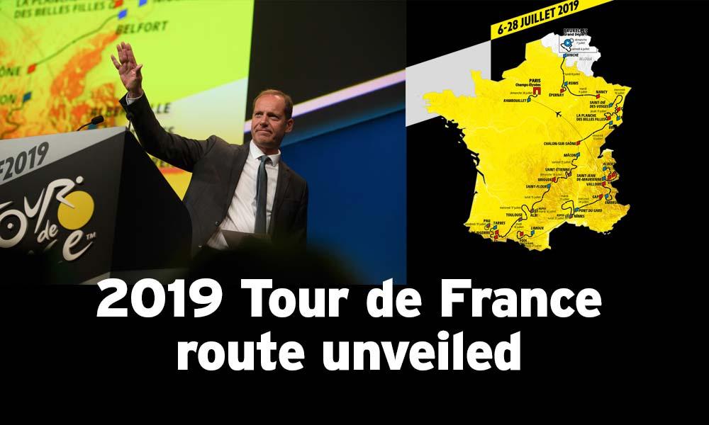 2019 Tour de France race route unveiled