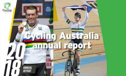 Cycling Australia's annual report: the Drake/Duncan effect