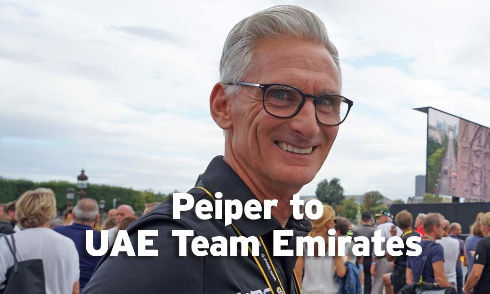 Allan Peiper moves to UAE Team Emirates
