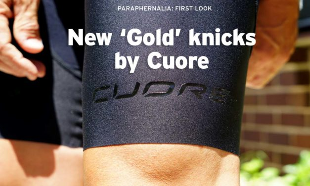 New 'Gold X1' knicks by Cuore: no more gripper