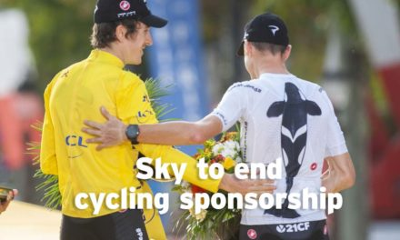 Sky to end cycling team sponsorship next year