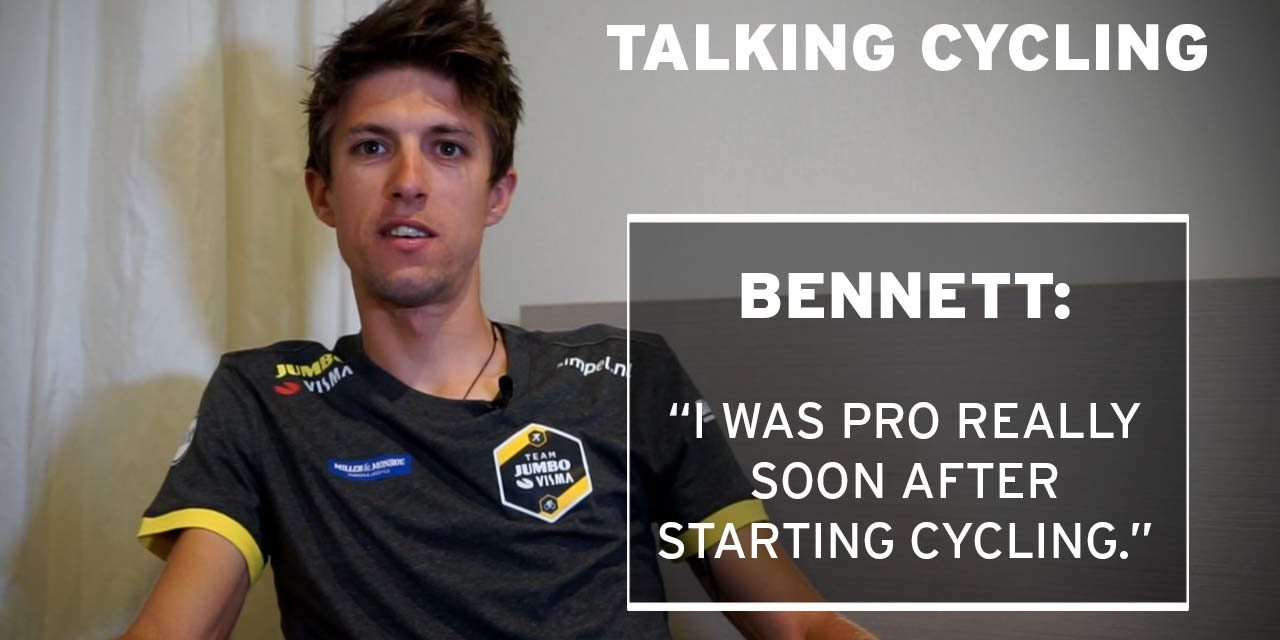 Talking cycling with George Bennett, Team Jumbo-Visma
