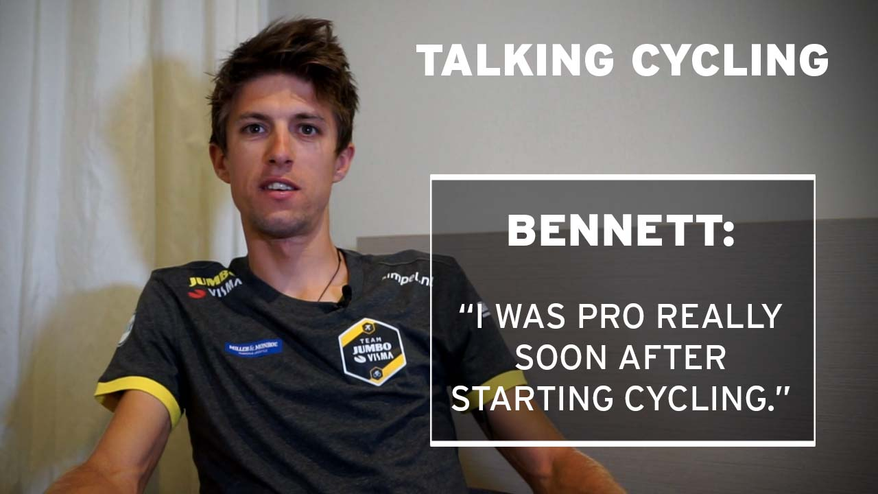 Talking cycling with George Bennett, Team Jumbo-Visma ...