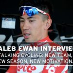 Talking cycling with Caleb Ewan