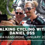 Talking cycling with Daniel Oss, Bora Hansgrohe – #JustRide