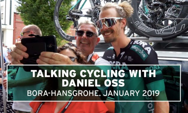 Talking cycling with Daniel Oss, Bora Hansgrohe – #JustRide