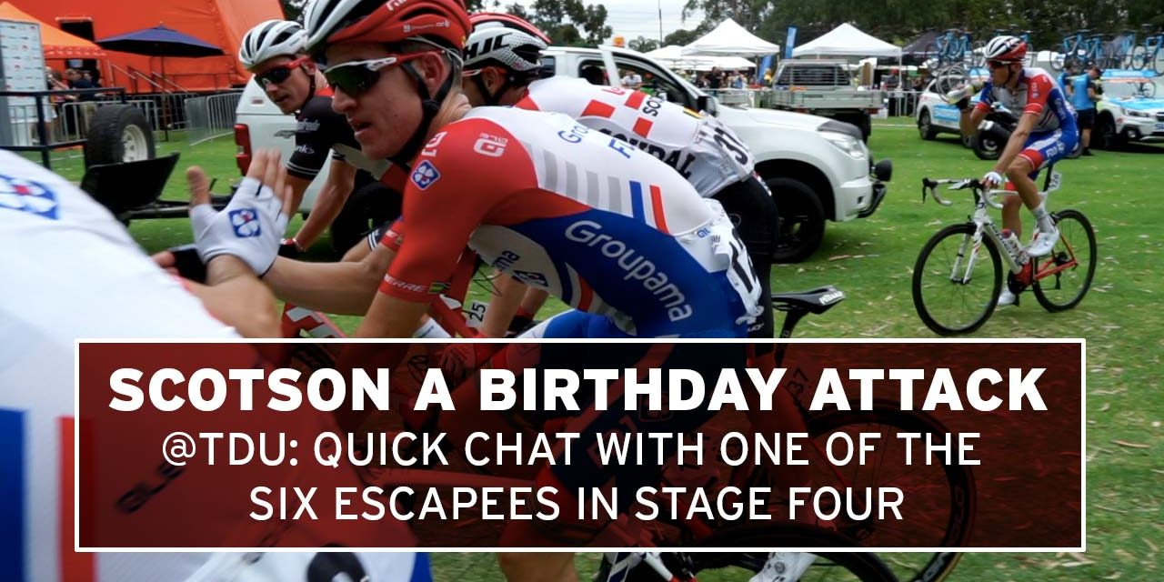 Quick chat with Miles Scotson: on the attack on his 25th birthday