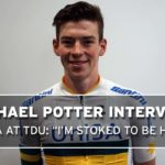 "Michael Potter at UniSA for TDU: ""I'm stoked to be here"""