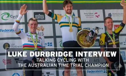 Talking cycling with Luke Durbridge, Australian TT champion
