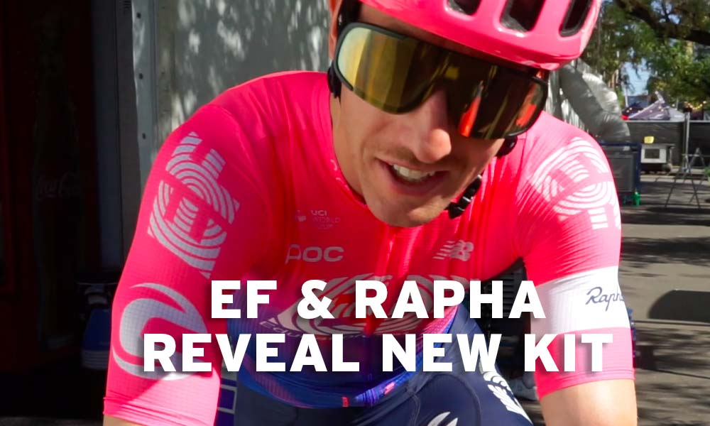 EF Education First Pro Cycling reveals 2019 outfit by Rapha