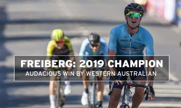 Michael Freiberg – national champion: an audacious victory