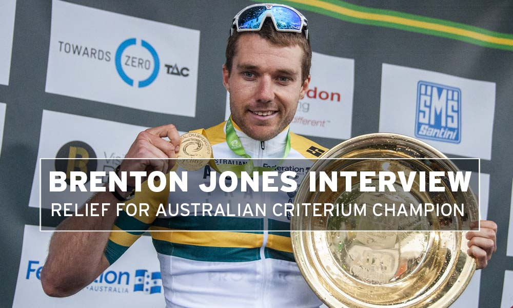 Interview – Brenton Jones: national criterium champion