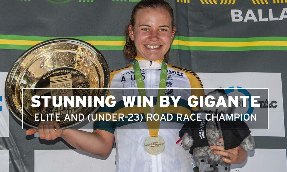 Sarah Gigante: Australian road race champion