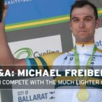 "Interview: Freiberg – ""I can compete with the much lighter guys"""