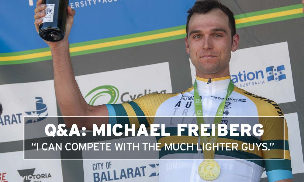 """Interview: Freiberg – """"I can compete with the much lighter guys"""""""