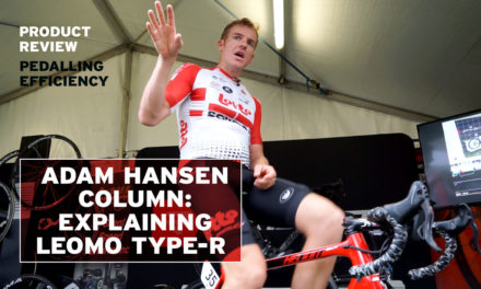 Adam Hansen column: First Ride with LEOMO TYPE-R