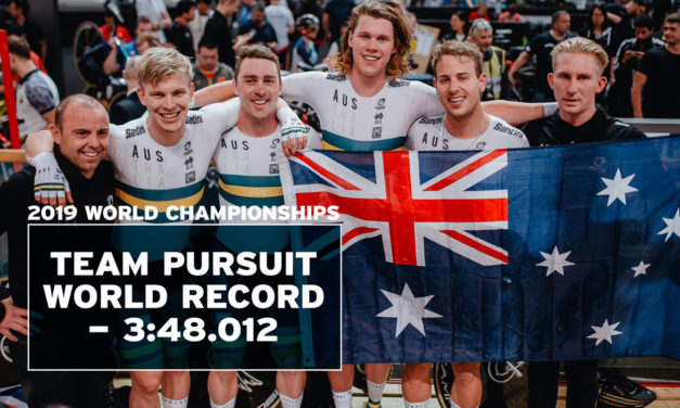 Australia: team pursuit world champions (again), another world record – 3:48.012