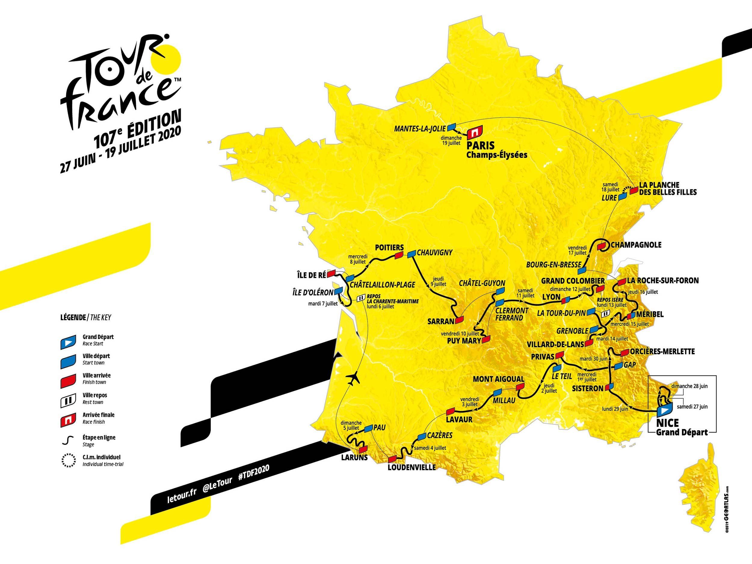 Tour De France 2020 A Route With Innovation Ride Media